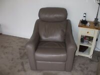 G Plan Leather Arm Chair