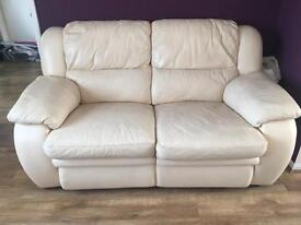 3+2 seater leather electric recliners