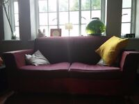 Free, VERY pre loved Habitat pull out sofa bed/couch