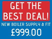 GET THE BEST PRICE FOR YOUR NEW BOILER /Installation,Repair,Service/Gas&Heating Engineer,Replacement