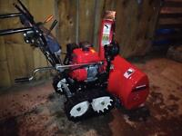 Honda Snowblower Model HS624