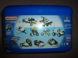 Meccano construction sets - excellent condition, aged 5-8 years