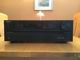 Onkyo TX-NR535 5.2 Channel Network A/V Reciever w/ HDMI 2.0 and 4K passthrough