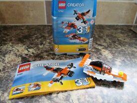 Lego Creator 3 in 1 - 5762 - aeroplane and hovercraft