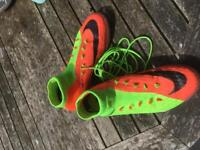 Nike sock boots Astro turf