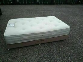 CAN DELIVER- SPACE SAVER 4FT SMALL DOUBLE BED IN VERY GOOD CONDITION
