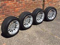 RH deep dish alloy wheels 4x100 Vw Golf Seat Mazda slammed stance hartge oz