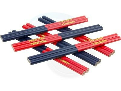 Pack of 12 Carpenter Bi-Color Constriction Drywall Marking Tool Pencil