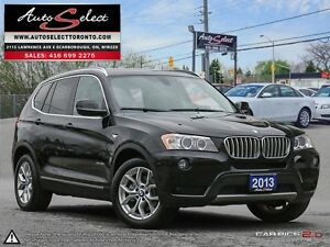 2013 BMW X3 xDrive28i AWD ONLY 66K! **360 VIEW CAMERAS** CLEA...