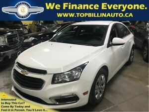 2015 Chevrolet Cruze LT Backup Cam, Bluetooth, Auto, Only 34K