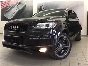 2014 Audi Q7 PROMO CERTIFIÉ INCLUS 3.0T SPORT BLACK OPTICS 21 P