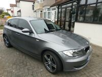 2009 BMW 118D SE 1 Series 85K Miles Manual 5dr 17in alloys -RED LEATHER - Loads of options - low tax