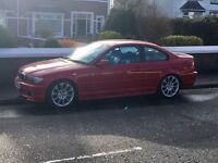 BMW 330cd m sport Coupe