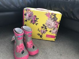 Joules Wellies inf size 5