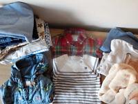 3-6, 6-9 months clothes Ralph Lauren, Next, M&S, Vertbaudet, Disney baby