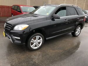 2015 Mercedes-Benz M-Class ML 350 BlueTEC, Leather, Sunroof, AWD
