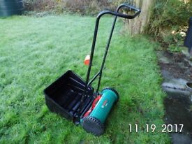 Bosch AHM 38G manual Lawnmower in VGC.