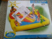 Intex The Wet Set Playground Pool Inflatable activity paddling pool Brand New