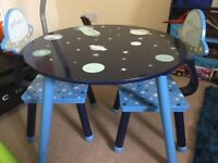 Boys table and chairs