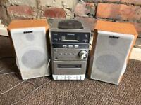 Needs to go ASAP Sony CD radio tape player with 2 speakers