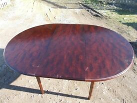 Stag Extendable Dining Table and 4 chairs