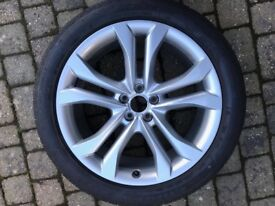 Alloy wheel and tyre - Audi SQ5