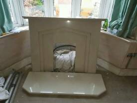 Fire surround and base
