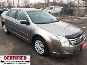 2008 Ford Fusion SEL ** BLUETOOTH, HTD LEATH, STANDARD TRANS **