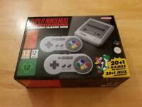 Nintendo SNES Mini - super rare item - Used - over 20 games installed