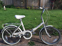 Vintage Raleigh Compact Bicycle