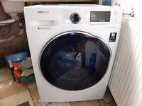 samsung WD90J6410AW/EU washer dryer white