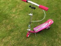 Pink Space Scooter