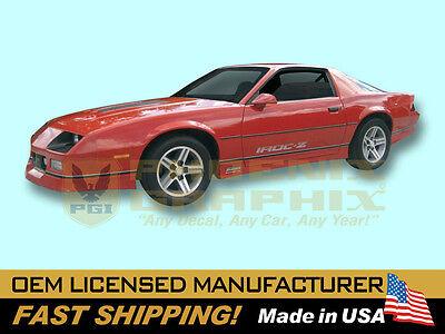1985 1986 1987 Chevrolet Camaro IROCZ IROC-Z Z28 Decals Stripes Graphics Kit for sale  Chandler