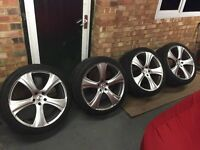 KAHN ALLOYS RS-C, RANGE ROVER BMW 22 INCH ALLOY TYRES, KHAN, VOGUE,SPORT,X5