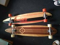 2 Twobarefeet Longboards for sale
