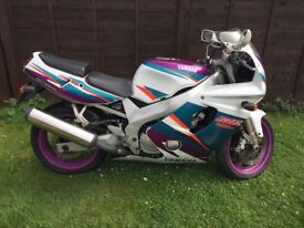 Yamaha FZR 600, 6 Previous Owners, 21000 Miles, HPI clear