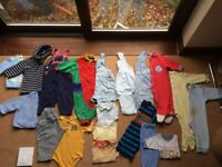 6-12 MONTHS BOYS CLOTHING BUNDLE 1- REDUCED PRICE.