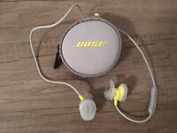 Bose SoundSport wireless headphones - fantastic Christmas present - used once - like new.