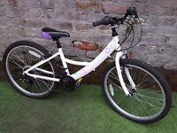 "8yrs+ DAWES SAPPHIRE, 24"" Wheels, 13"" Alu Fr, 18 Speed, VGC! Bike SERVICED RRP £230"