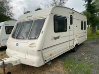 Bailey pageant 2000 4 berth fixed bed moter mover
