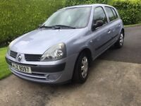 2004 Renault Clio Expression petrol Automatic