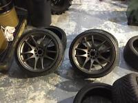 Rota torques 18x9.5 5x114.3 ET12 set of 4