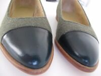 Eureka/Miss Julia collection leather flats