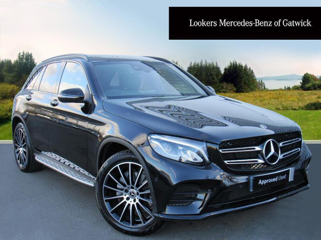 mercedes benz glc class glc 220 d 4matic amg line premium plus black 2017 12 11 in crawley. Black Bedroom Furniture Sets. Home Design Ideas