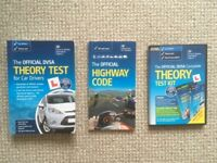 DVSA Driving Theory Test Book & DVD & the Highway Code