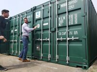 Best value container storage Poole. 24/7 access, CCTV, parking, palisade fencing, self-storage
