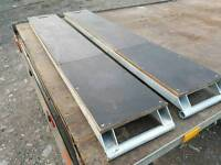 Pair of brand new ifor williams indespension bateson 6ft trailer loading ramps