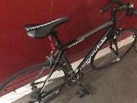 Black cannondale synapse road bike for sale