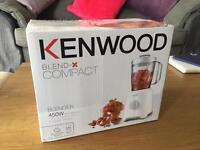 Kenwood Blend-X Compact Blender - Brand New In Box