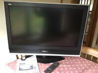 "Panasonic Viera lcd 32"" TV"